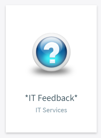 IT Feedback Tile