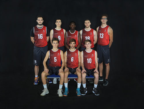Basketball Men's Team 2018-2019