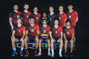 Men's volleyball team 2018-19