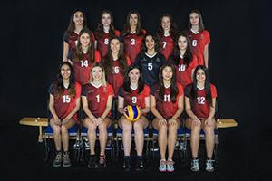 Women's volleyball team 2018-19